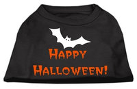 Mirage Pet Products 511304 MDBK Happy Halloween Screen Print Shirts Black M 12