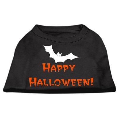 Mirage Pet Products 511304 MDBK Happy Halloween Screen Print Shirts Black M 12