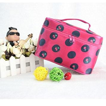 Viskey Non-woven Fabrics Makeup Tool Desk Storage Bag Spot Organizer, Pink