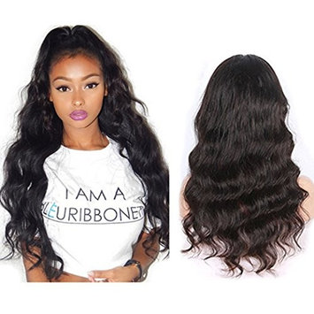 H&N Hair Brazilian Virgin Hair Lace Front Wigs Body Wave Human Hair Wigs For Black Women 130% Density with Baby Hair Natural Color 22inch