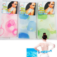 Atb 1 Hot Exfoliating Nylon Bath Towel Shower Cloth Body Cleaning Washing Scrubbing