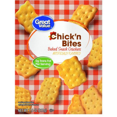 Great Value Chick'n Bites Crackers