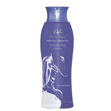 White Sands Volumizing Shampoo 7.6 oz Color Safe, Sulfate Free Shampoo. Lift, Volume, Thickens, Repairs, Cleanses & Conditions Short, Medium, Long, Fine, Thin or Thinning Hair Types