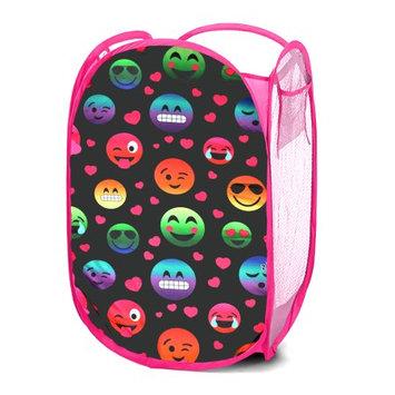 Idea Nuova EmojiPals Storage Pop Up Laundry Bin, Tie Dye