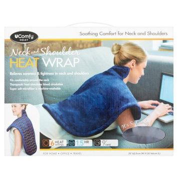E. Mishan & Sons, Inc UComfy Neck and Shoulder Heat Wrap, Blue