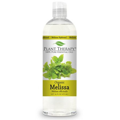 Plant Therapy Melissa Organic Hydrosol 16 fl. oz. By-Product of Essential Oils