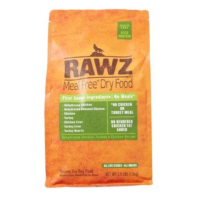 Rawz Natural Pet Food Chicken & Turkey Dry Dog Food, 3.5 Lb