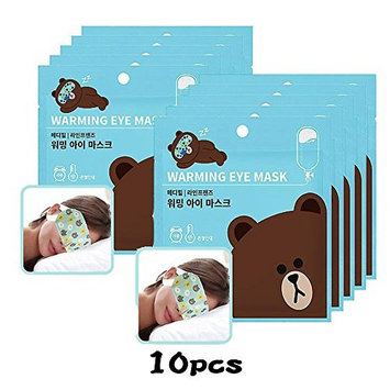 MEDIHEAL X LINE FRIENDS Warming Eye Mask (Unscented) 10pcs