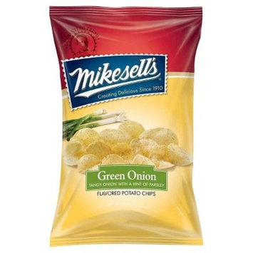 Mikesell's Green Onion Flavored Potato Chips - 2oz