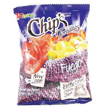 Potato Chips Toreadas Fuego 1.87oz (16 Ct)