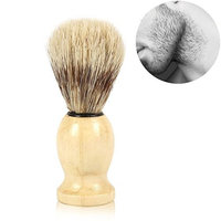 Shaving Brush Facial Hair Remove Tool for Man razor Cosmetic Tool Wood Handle
