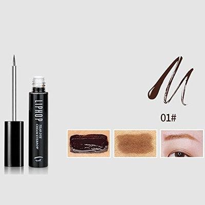 Msmask Waterproof Long Lasting Peel Off Eyebrow Tint Gel Makeup Eyebrow Cream Dye