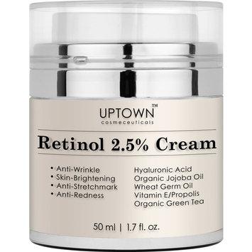 Uptown Cosmeceuticals Retinol 2.5% Cream for Eye/Anti-Wrinkle, 50ml
