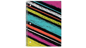 Mead® Shape It Up® College Ruled Notebook - 1 Subject (07152C) - Mead Notebooks