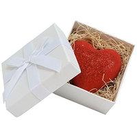 Bath Bomb Love is in the Air 5.2 oz Heart Shaped Karma Sutra Bath Bomb