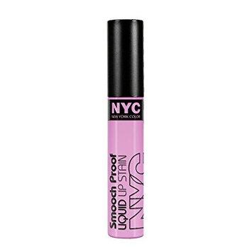N.Y.C. New York Color Smooch Proof Liquid Lip Stain, In The Spotlight, 0.24 Fluid Ounce