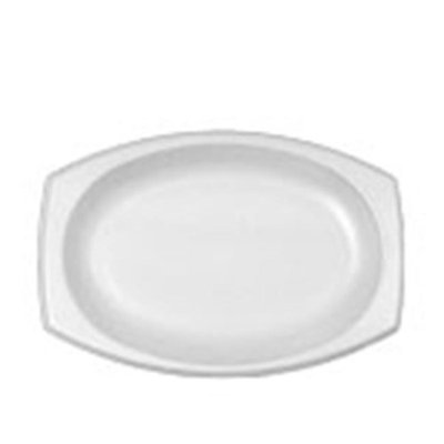 Dcc Concepts DCC 11PRWQR 11 in. Classic Laminated Dinnerware Plate White - Case of 4 Sleeve per 125