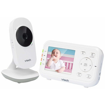 "VTech VM3252 2.8"" Digital Video Baby Monitor with Full-Color and Automatic Night Vision, White"