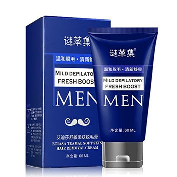 Sinfu Depilatory Cream For Man's Permanent Body Hair Removal Cream Hand Leg Hair Loss Depilatory Cream 60ml