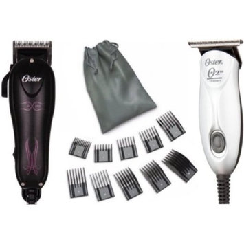 Oster Combo Teqie Trimmer and MX Pro With 10 Piece Comb Set