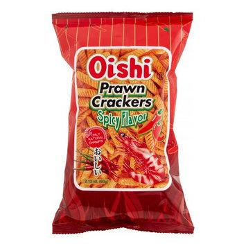 Oishi Prawn Crackers Spicy (Small), 60 Gram