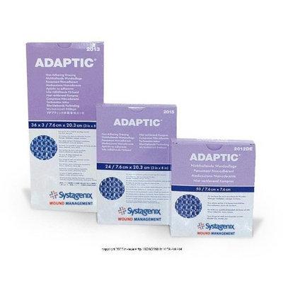 ADAPTIC Non-adhering Dressing, Adaptic Drs Non-Adh Strl 3X8, (1 BOX, 36 EACH)