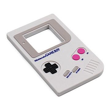 Bumkins Nintendo Silicone Teether, Textured, Soft, Flexible, Bacteria Resistant - Game Boy [Nintendo]