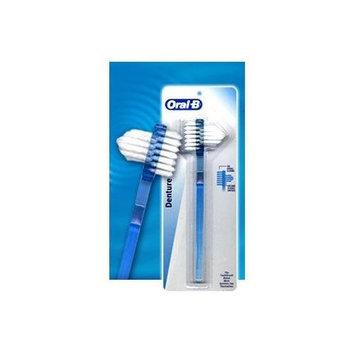 Oral-B Denture Brush Dual Head 1 EA - Buy Packs and SAVE (Pack of 4)