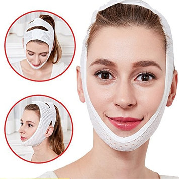 Anti Wrinkle Lift V Face Line Face Lifting Slimmer Chin Lift Band Chin Care Mask Tightening Patch Breathable, Anti-Bacteria
