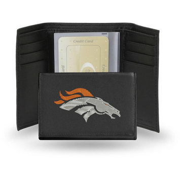 Rico NFL Embroidered Tri-Fold Wallet