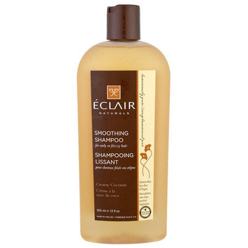 Eclair Naturals, Smoothing Shampoo, Creamy Coconut, 12 fl oz (355 ml) [Scent : Creamy Coconut]