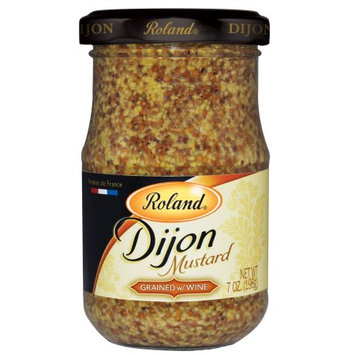 Roland Dijon Mustard, Grained with Wine, 7 Oz