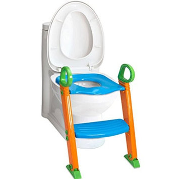 Toddler Toilet chair Kids Potty Training Seat With Step Stool Ladder