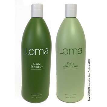 LOMA Daily Shampoo and Daily Conditioner (DUO PACK) 33 Ounce (Liter)