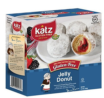 Katz Gluten Free Jelly filled Donuts, 8.5 Ounce