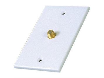 Rca Vh61r Single Coaxial Wall Plate