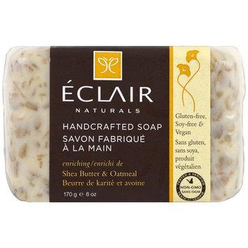 Eclair Naturals, Handcrafted Soap, Shea Butter & Oatmeal, 6 oz (170 g) [Scent : Shea Butter & Oatmeal]