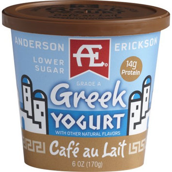 Anderson Erickson Dairy AE CAFE AU LAIT GREEK YOGURT