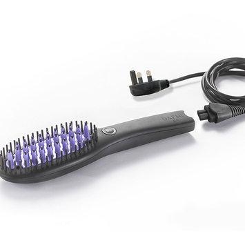 DAFNI Go Straight Hair Straightening Brush, Black