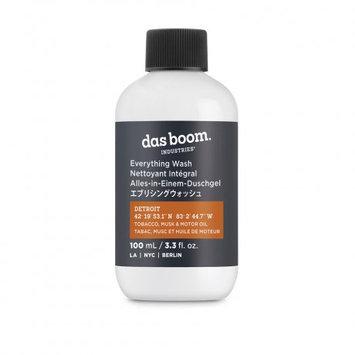 Das Boom. Industries das boom industries Everything Wash Detroit - Travel Size