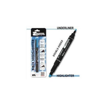 G T Luscombe 992675 Highlighter Zebrite Carded Blue