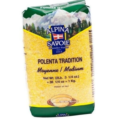 Alpina De Savoie Polenta - Medium - 1 bag - 2.2 lbs