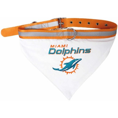 Pets First NFL Miami Dolphins Pet Bandana