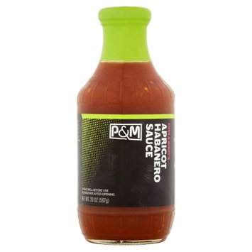 Summer Garden Food, A Green Facility Pork And Mindys, Sauce BBQ Apricot Habanero, 20 Oz (Pack Of 6)