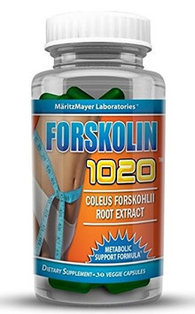 Maritzmayer Laboratories 2X Forskolin 1020 Metabolic Support Weight Loss Formula 20% 250mg 60 Capsules (2)