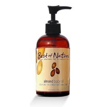 Almond Body Oil - 8 oz - 100% Pure & Natural - For Body & Hair!