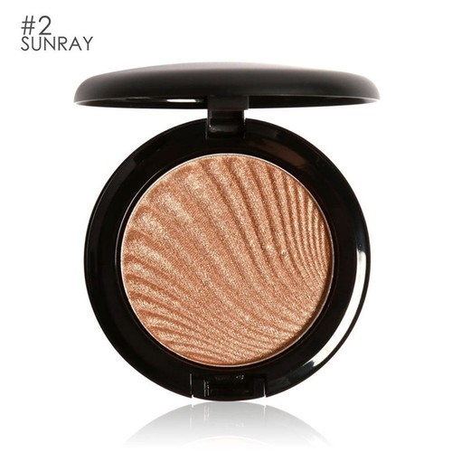 FOCALLURE Highlighting Powder Skin Brightening Illuminator Facial Beauty Makeup Ultra Glow Beam Highlighter T-area Contour Modification