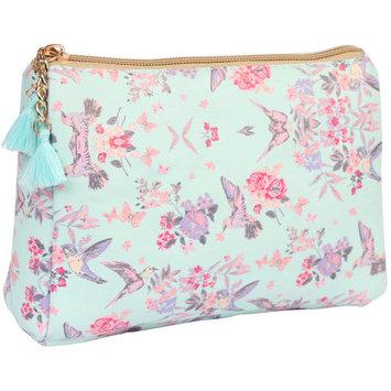 Riah Fashion Floral Print Cosmetic Bag