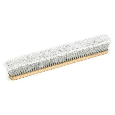 LAITNER 14251242 Push Broom Head, Fine-Sweeping, Wood,24 in