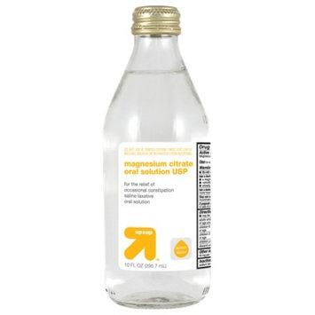 Magnesium Citrate - Lemon Flavor -10oz - up & up™